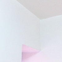 untitled (glowing pink symmetry)
